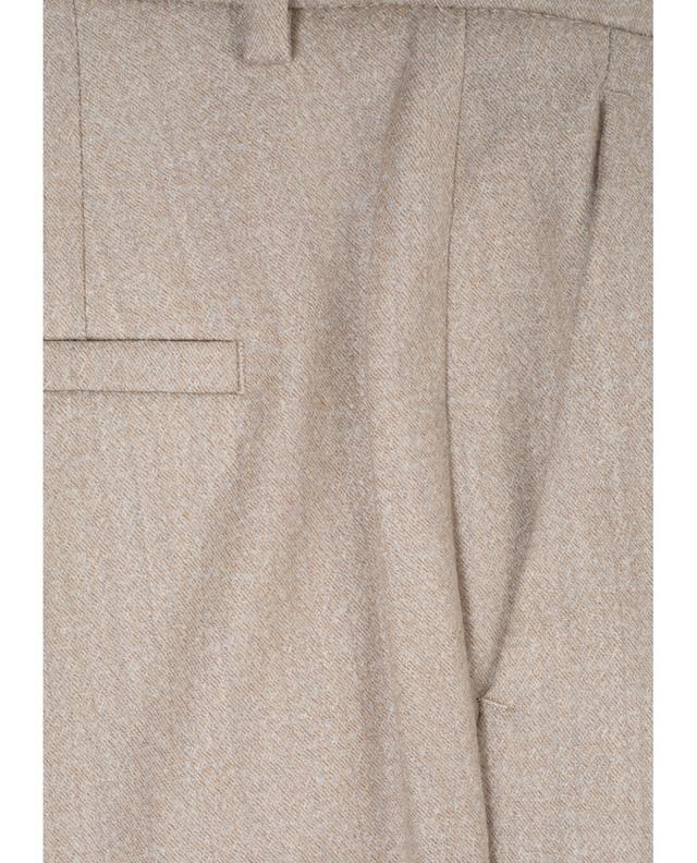 Hose in Zigarettenform aus Wollmischgewebe CAMBIO