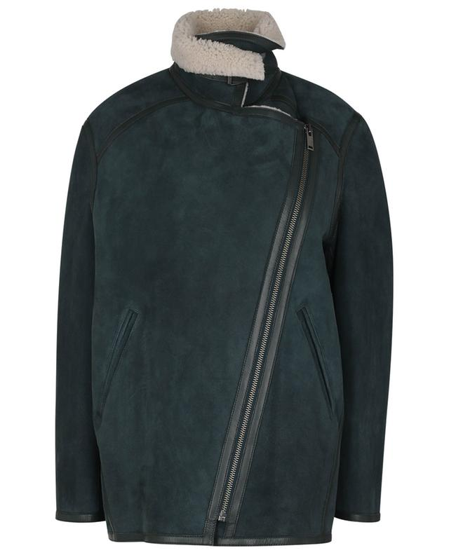 Veste oversize en peau lainée Azario ISABEL MARANT ETOILE