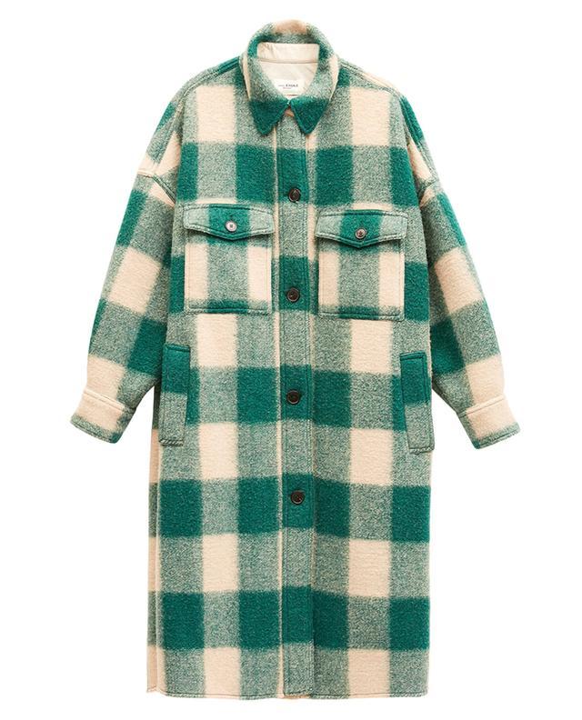Manteau oversize à carreaux Fontizi ISABEL MARANT ETOILE