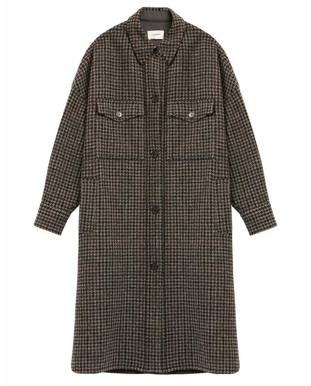 Manteau oversize motif pied-de-poule Fontiali ISABEL MARANT ETOILE