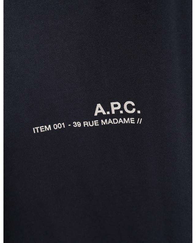 T-shirt à manches courtes imprimé ITEM 001 A.P.C.