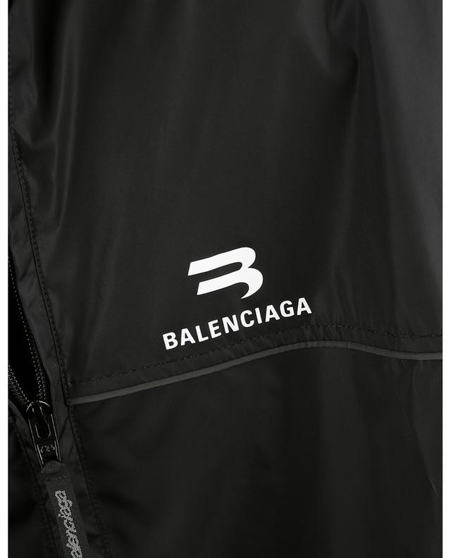 Blouson oversize en nylon imprimé Tracksuit Sporty B BALENCIAGA