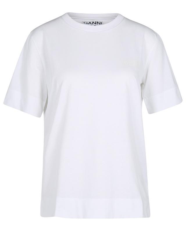 T-shirt à manches courtes imprimé logo Thin Software GANNI