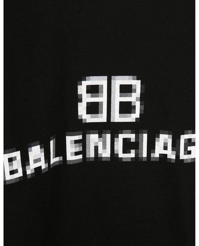 T-shirt imprimé BB Pixel Medium Fit BALENCIAGA
