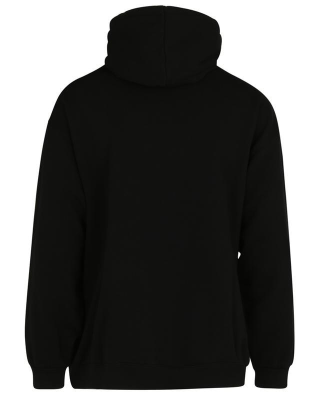 Sweat-shirt à capuche imprimé BB Pixel Medium Fit BALENCIAGA
