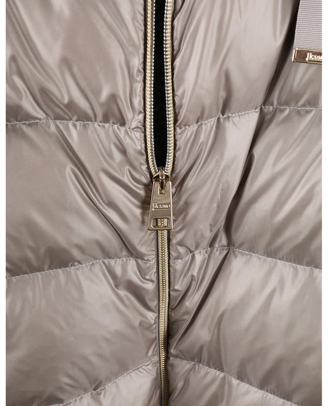 Parka en maille à sequins et nylon Resort Winter Ultralight HERNO
