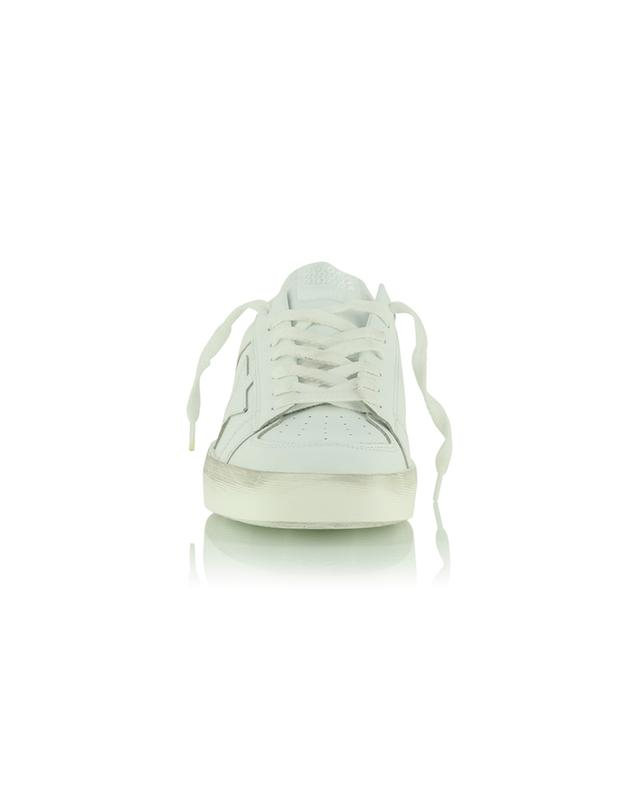 Baskets basses à lacets en cuir blanc Stardan GOLDEN GOOSE