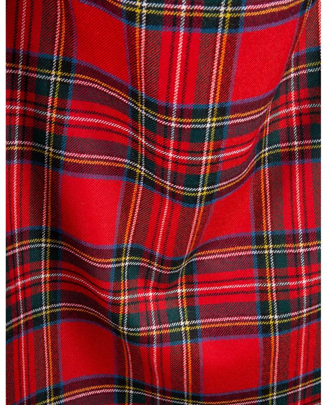 Jupe crayon en laine vierge à carreaux Tartan RED VALENTINO
