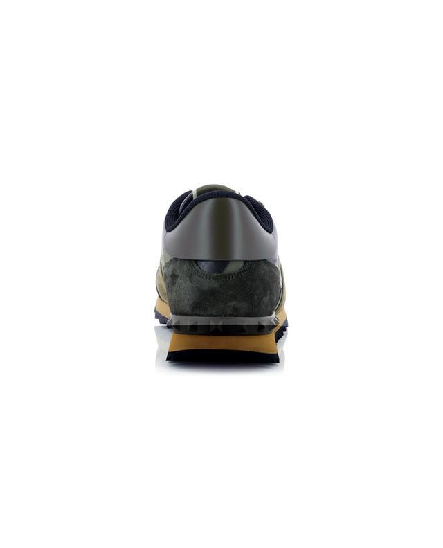 Baskets multi-matière imprimées Camouflage Rockrunner VALENTINO