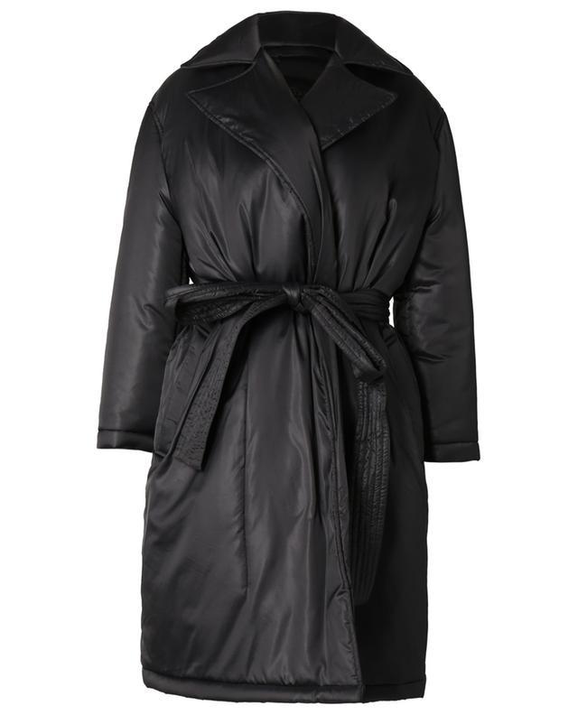 Manteau rembourré en nylon avec tulle The Black Tag RED VALENTINO