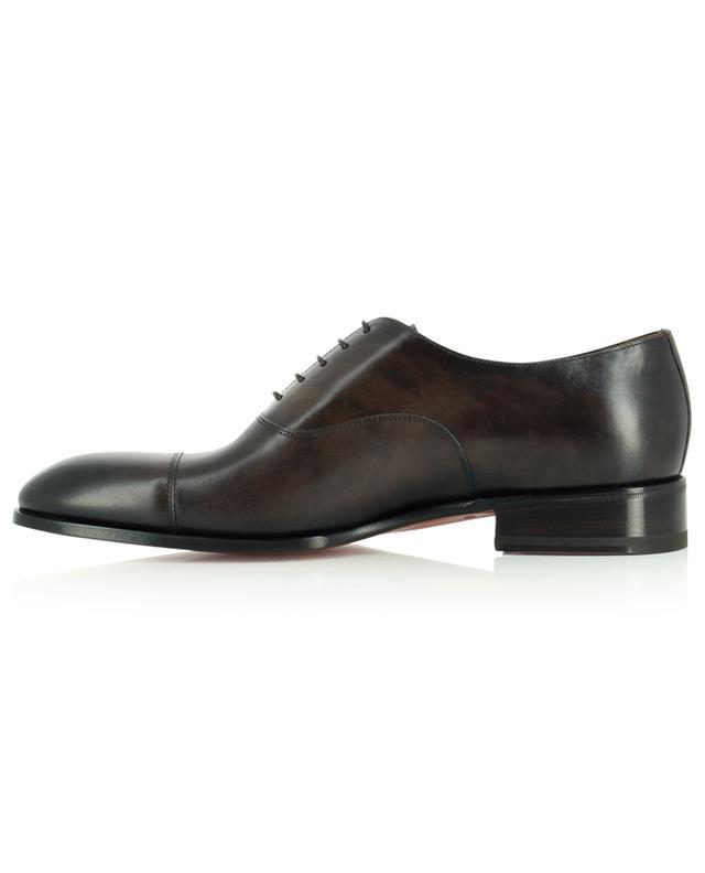 Chaussures à lacets en cuir SANTONI