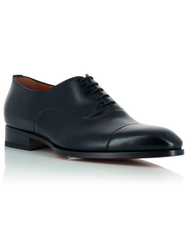 Leather lace-up shoes SANTONI