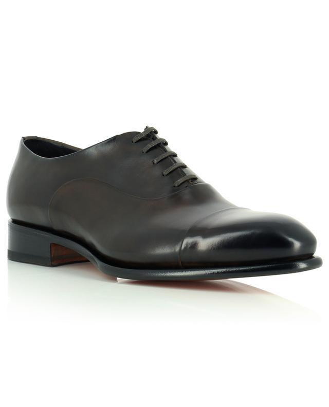 Chaussures à lacet en cuir poli SANTONI