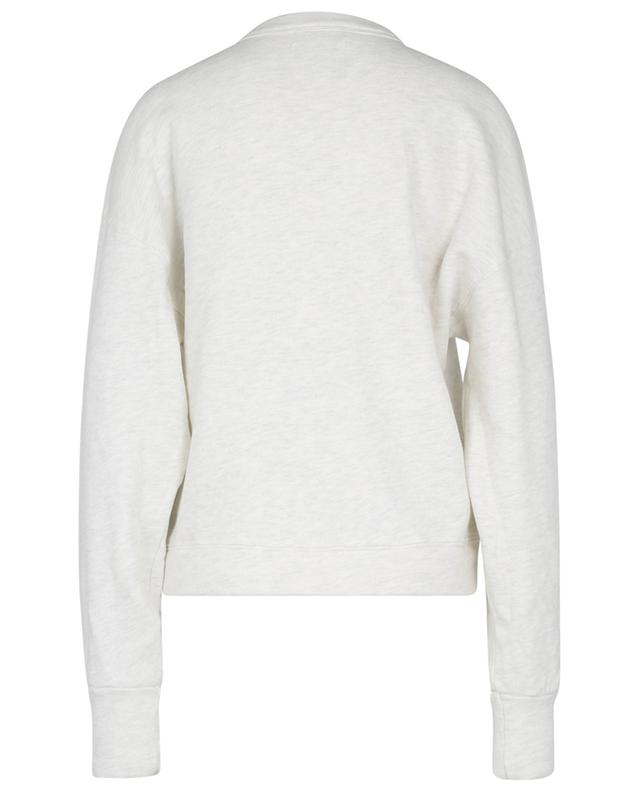 Sweat-shirt ample à col rond boutonné Cora Henley CITIZENS OF HUMANITY