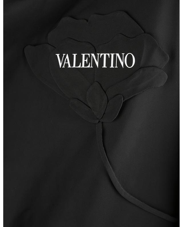 Blouson en sergé de nylon brodé Men's Garden VALENTINO
