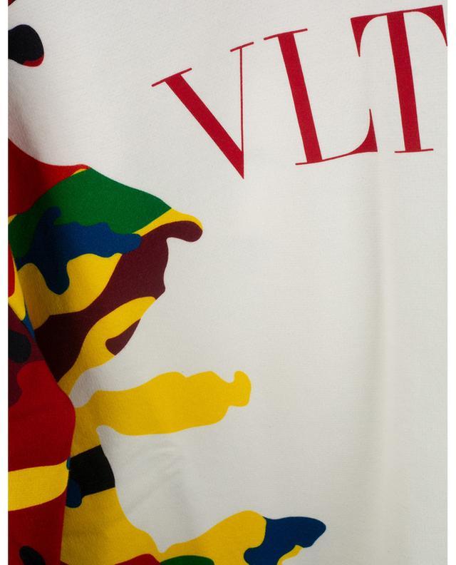 Sweat-shirt à col rond imprimé Camou7 VALENTINO