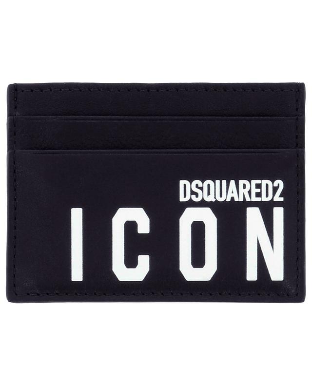 Porte-cartes en cuir Be ICON DSQUARED2