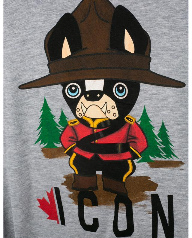 T-shirt imprimé Mountie Dog ICON Cool Fit DSQUARED2