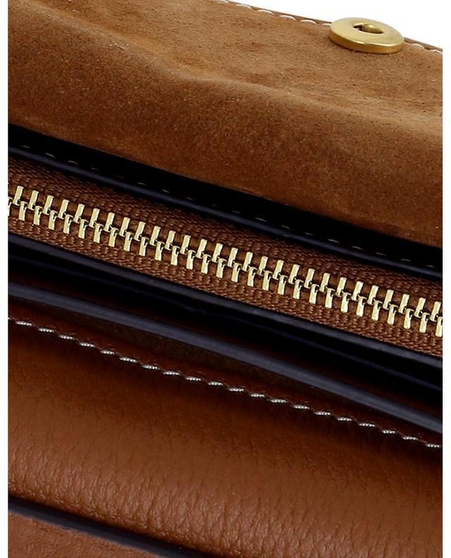 Sac à bandoulière en cuir grainé Miller Wallet Crossbody TORY BURCH