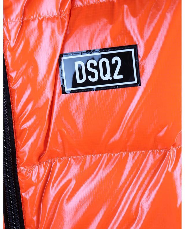 Doudoune en ripstop brillant à capuche DSQ2 DSQUARED2