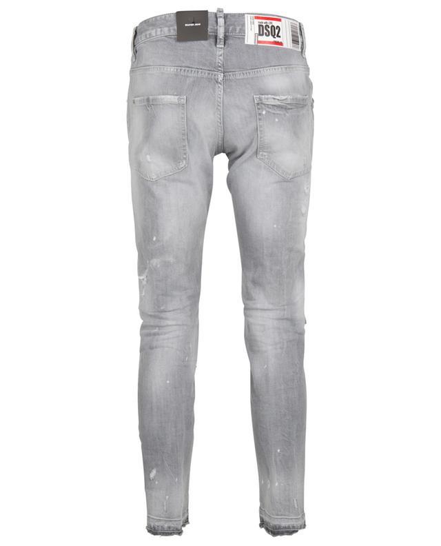 Jean slim gris déchiré Skater Jean DSQUARED2