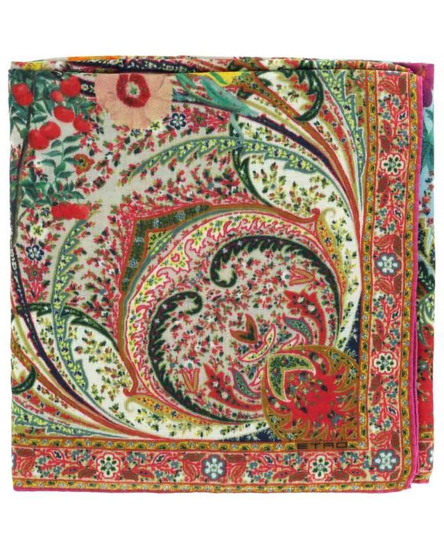 Écharpe en laine mélangée Bombay ETRO