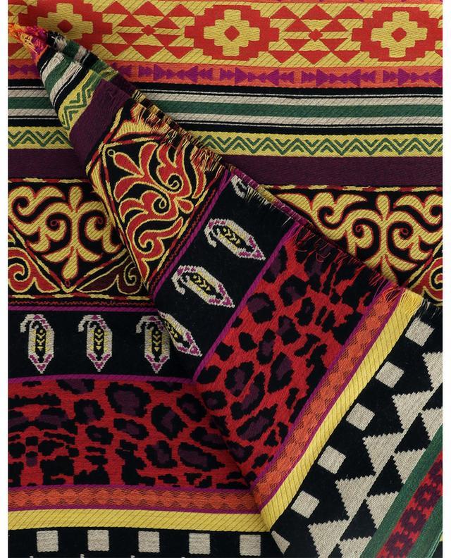 Écharpe en laine et soie couleurs vives ETRO