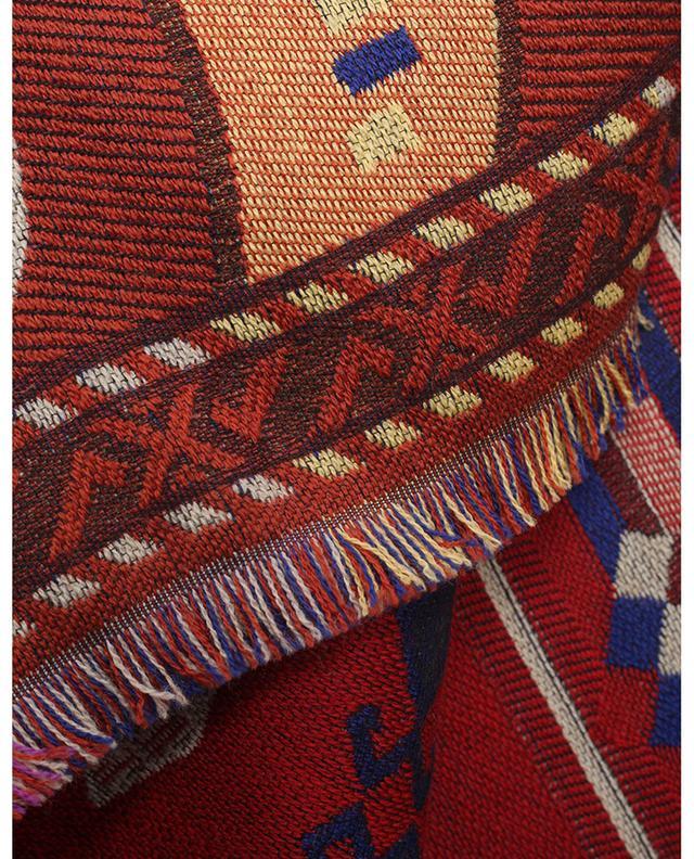 Cape jacquard motifs Ikat, Paisley et animaliers ETRO