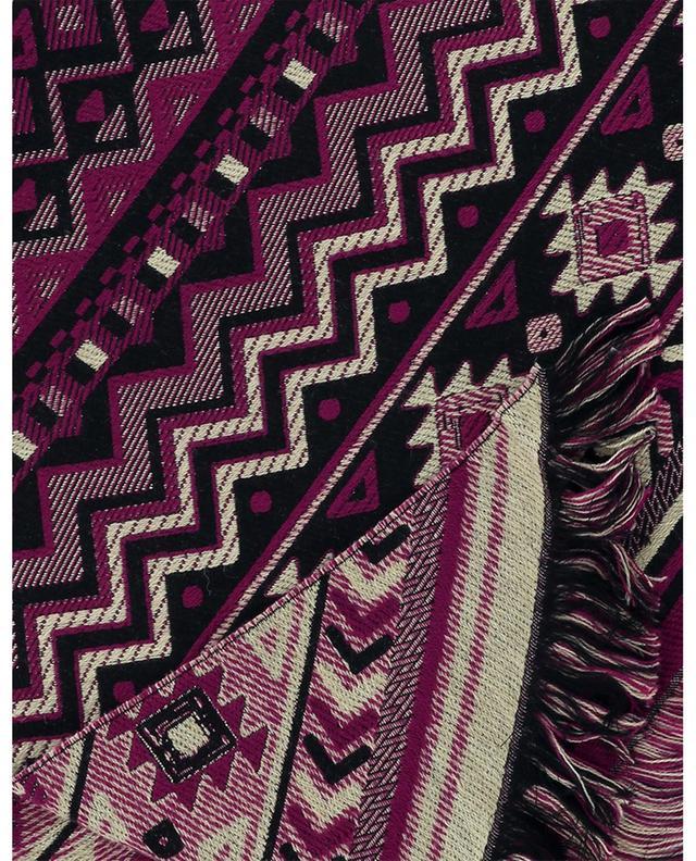 Écharpe triangulaire avec imprimé Ikat ETRO