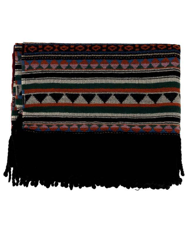 Écharpe oversize motifs jacquard à franges ETRO