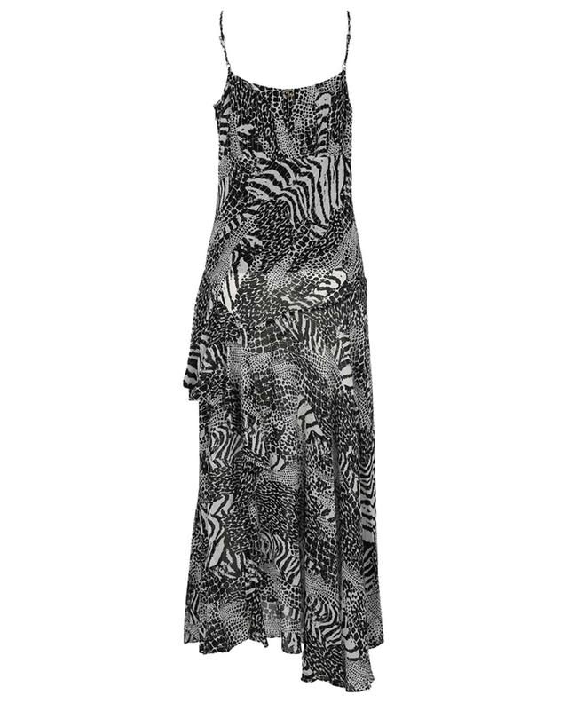 Robe longue à bretelles motifs animaliers TWINSET