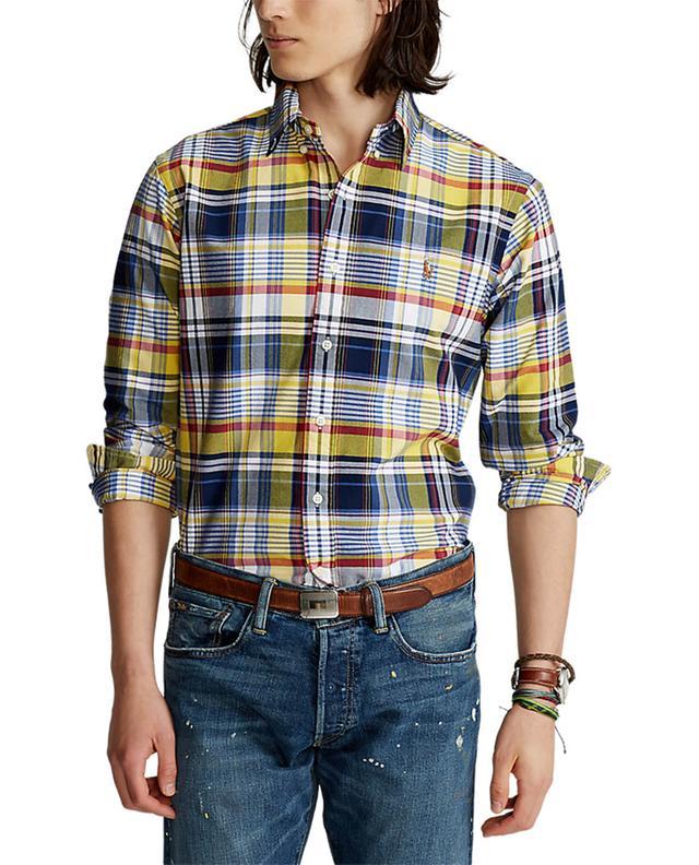 Chemise à carreaux Oxford Custom Fit Pony POLO RALPH LAUREN