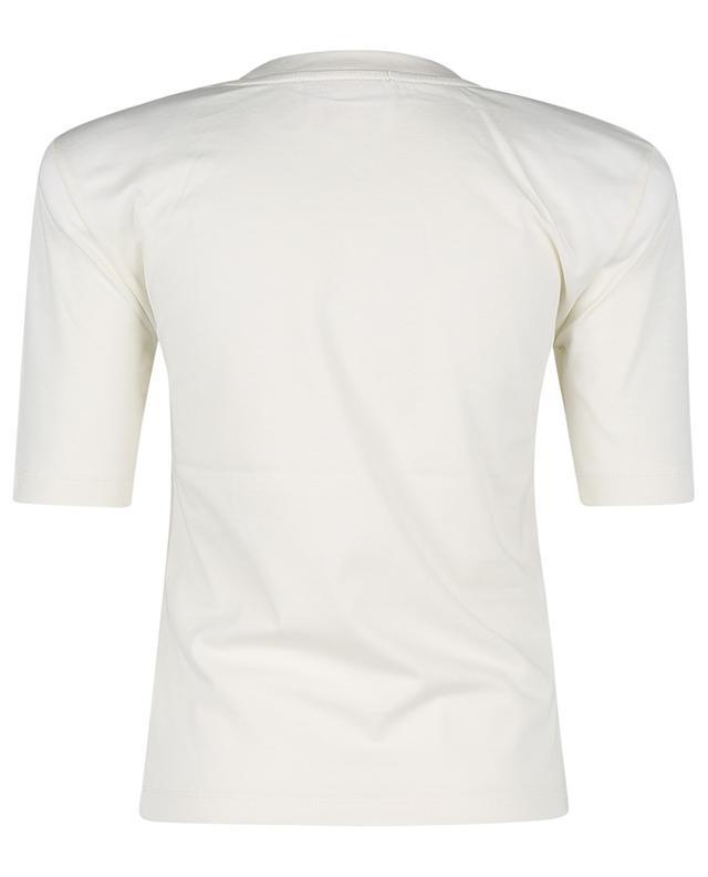T-shirt en coton biologique Xenia O-Neck Vanilla Ice REMAIN BIRGER CHRISTENSEN