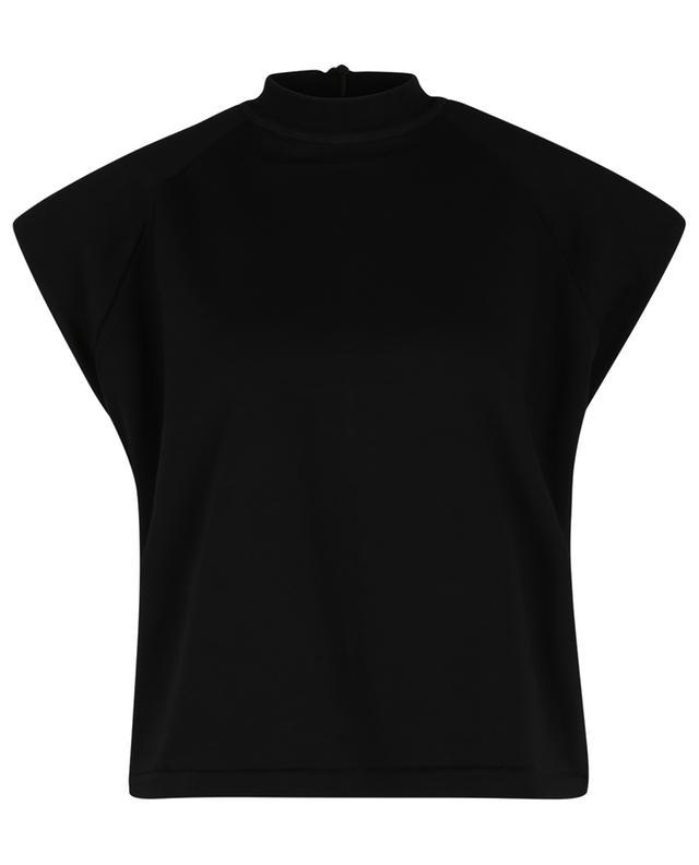 T-shirt boxy en coton bio Verona SL High-Neck REMAIN BIRGER CHRISTENSEN