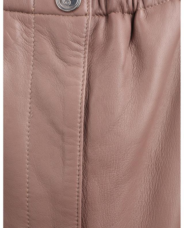 Pantalon paperbag en cuir Gracele REMAIN BIRGER CHRISTENSEN