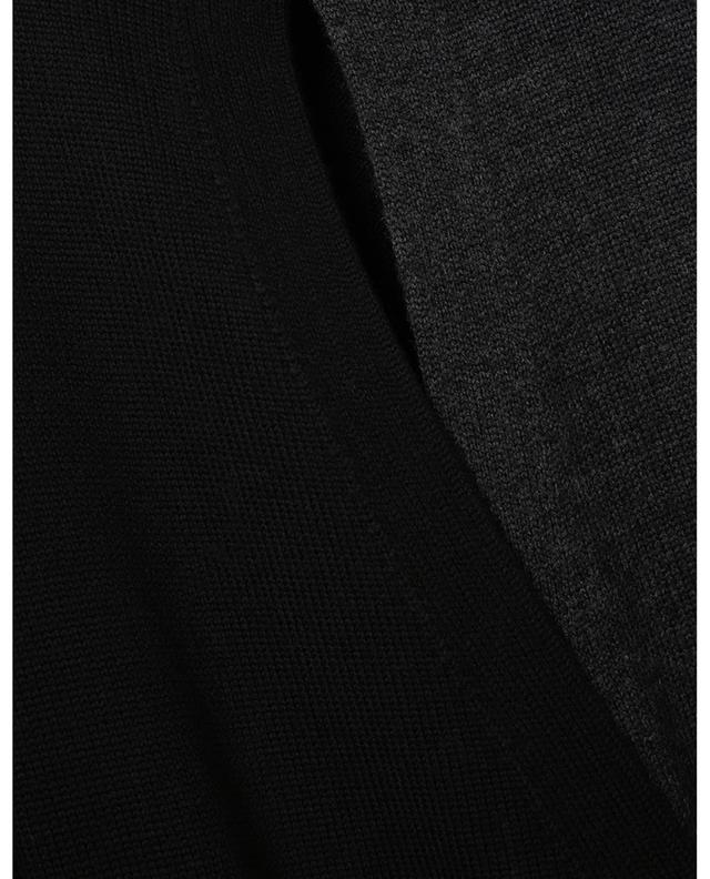 Robe portefeuille en pure laine AKRIS PUNTO