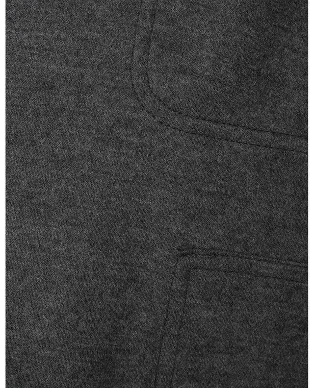 Pantalon cargo slim en laine jersey Milla AKRIS PUNTO