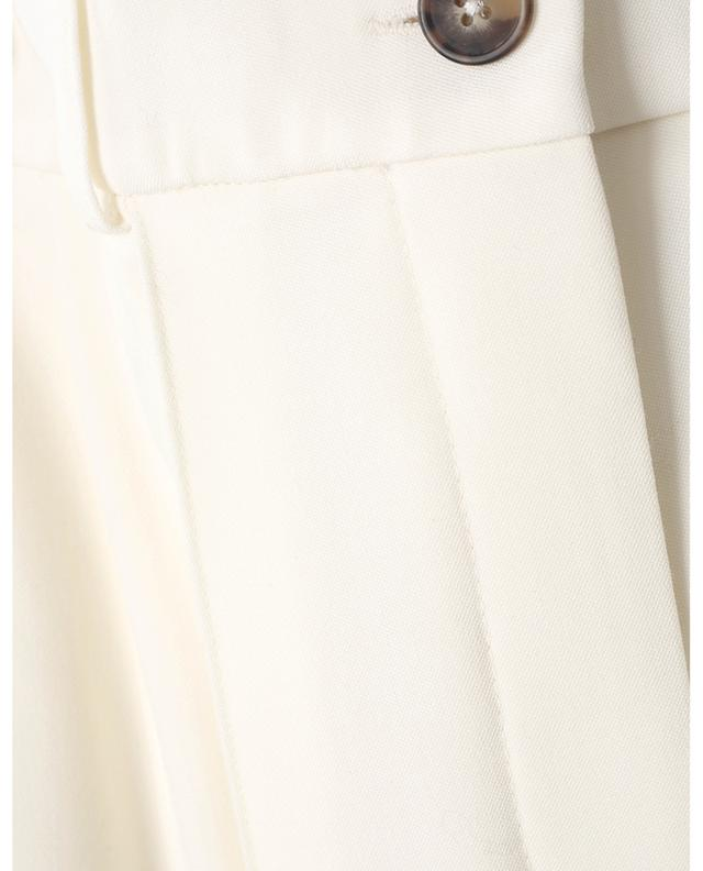 Pantalon large taille haute en laine Mouro LOULOU STUDIO