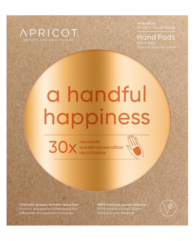 Patch mains à l'acide hyaluronique A Handful Happiness - 30 utilisations APRICOT