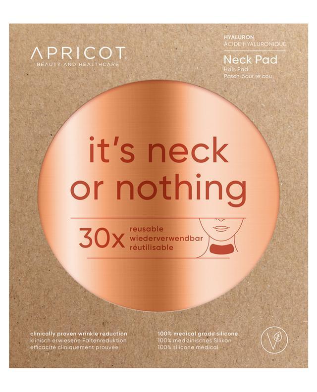 Patch pour le cou à l'acidy hyaluronique It's Neck Or Nothing - 30 utilisations APRICOT