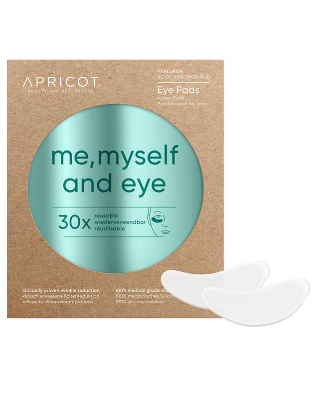Patchs pour yeux à l'acide hyaluronique Me, Myself and Eye - 30 utilisations APRICOT