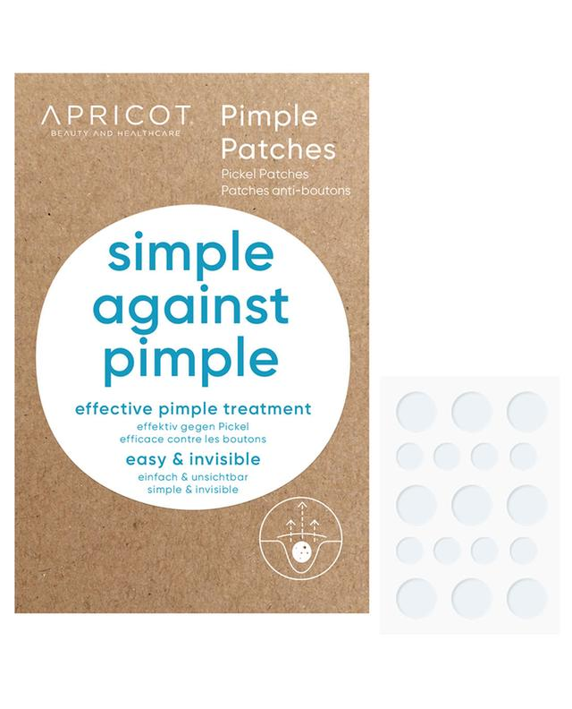 Patchs anti-bouton Simple Against Pimple - 72 pièces en 2 tailles APRICOT