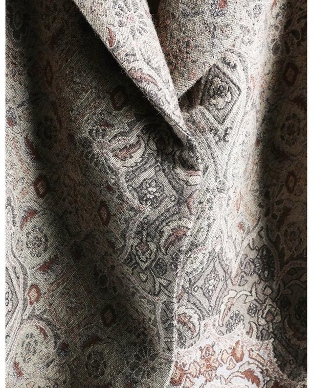 Manteau oversize en brocart à boutonnage simple FABIANA FILIPPI