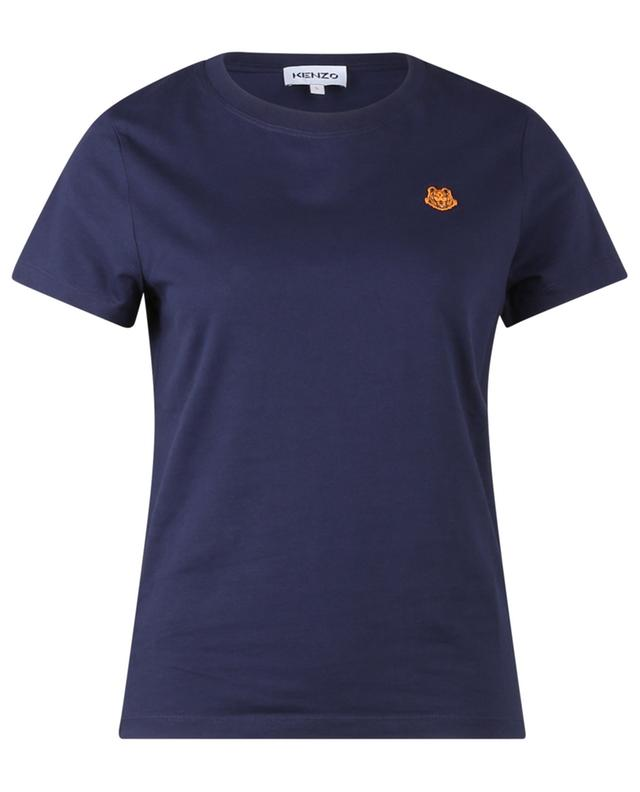 T-shirt à manches courtes brodé patch Tiger Crest KENZO