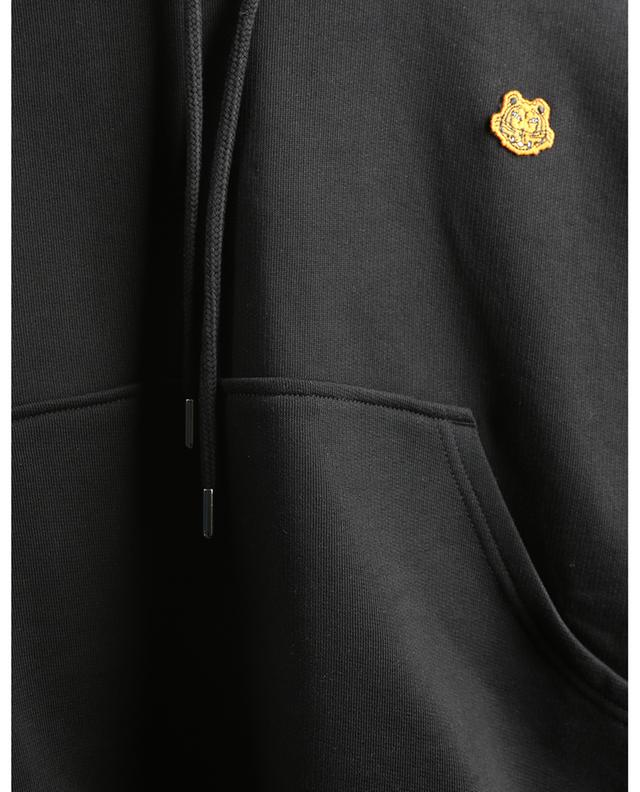 Sweat-shirt à capuche boxy brodé Tiger Crest KENZO