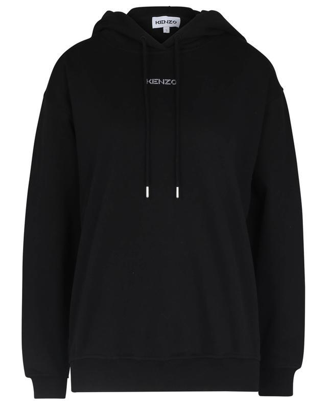 Sweat-shirt à capuche boxy en coton bio Micro Kenzo KENZO
