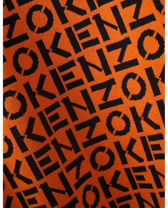 Minijupe en maille KENZO Sport Monogram KENZO