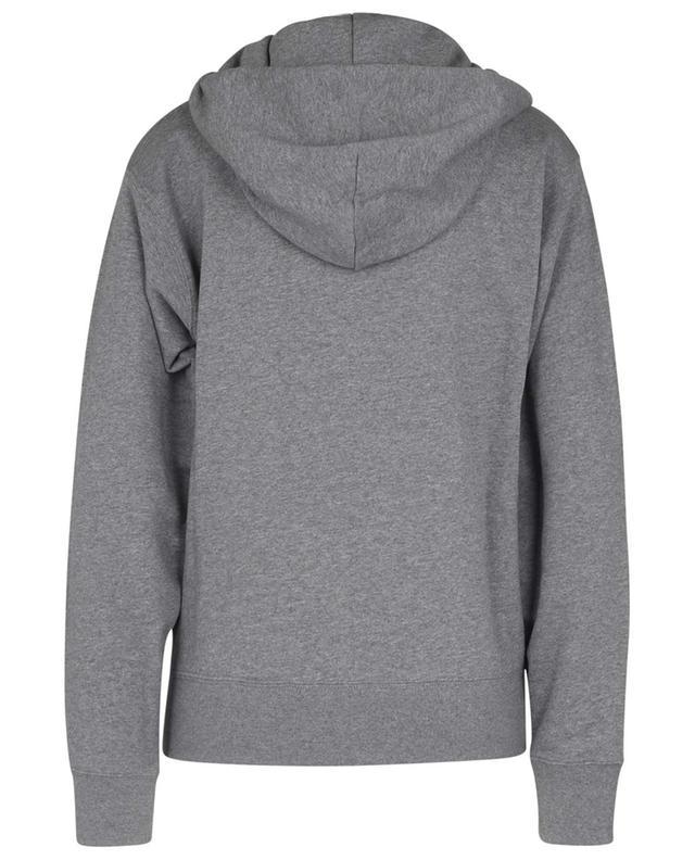 Sweat-shirt à capuche en coton brodé Tiger KENZO