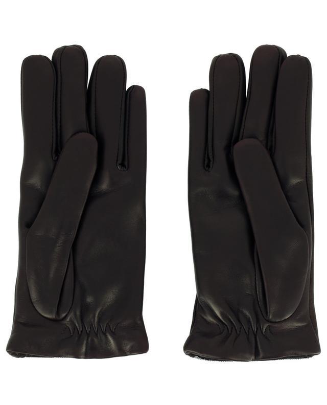 Handschuhe aus Glattleder mit Perlenstickereien FABIANA FILIPPI