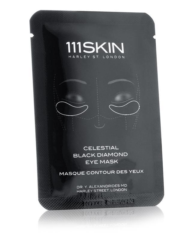 Masque Pour Les Yeux Au Diamant Noir Céleste SIMPLE 111 SKIN